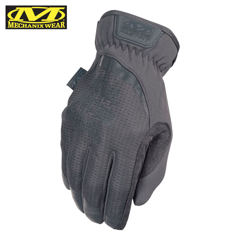 FastFit Wolf Grey Tactical Gloves Mechanix