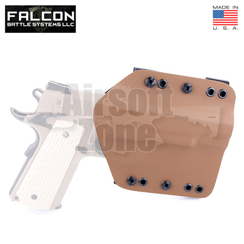 Enforcer Kydex Holster for TM/WE Hi Capa/1911 Tan FKT