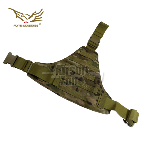 Triangular Leg Panel Multicam FLYYE