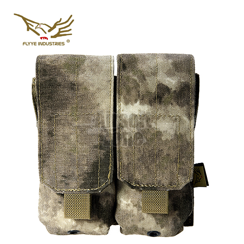 Double M4/M16 Magazine Pouch (holds 4 mags) A-Tacs MOLLE FLYYE