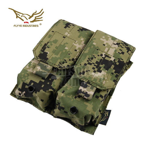 Double M4/M16 Magazine Pouch (holds 4 mags) AOR2 MOLLE FLYYE