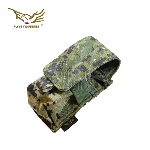 Single M14 Magazine Pouch (holds 2 mags) AOR2 MOLLE FLYYE