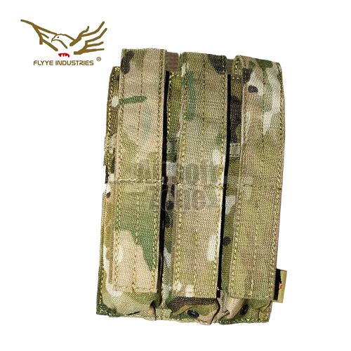 Triple MP5 Magazine Pouch Multicam MOLLE FLYYE