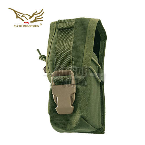Single G36 Magazine Pouch (holds 2 mags) OD Green MOLLE FLYYE