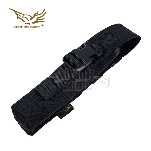 Single Flare Pouch Black MOLLE FLYYE