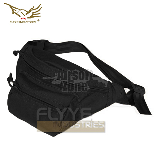 Tactical Waist Bag Black FLYYE