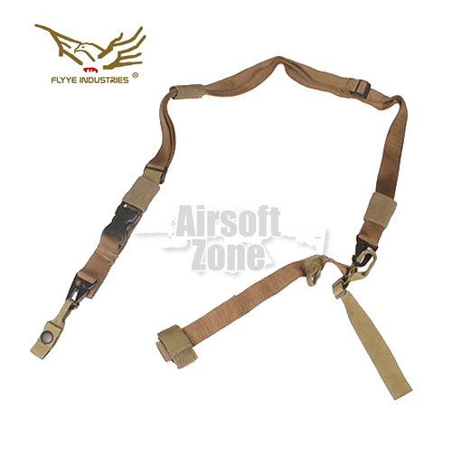 Tactical Three Point Sling Khaki FLYYE
