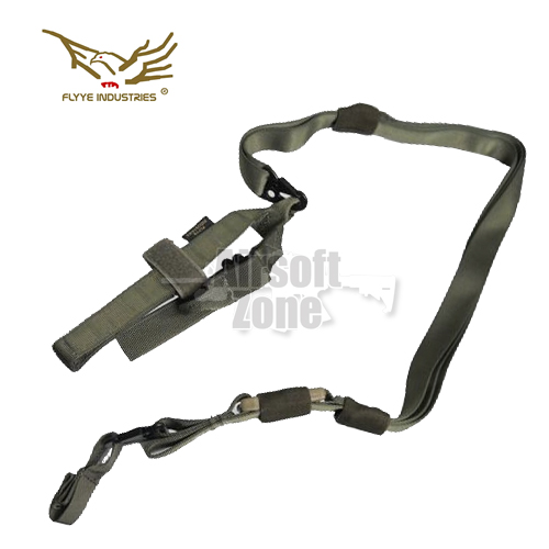 Tactical Three Point Sling OD Green FLYYE