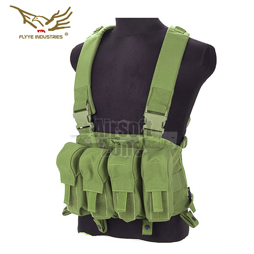 LT AK Tactical Chest Rig OD Green FLYYE