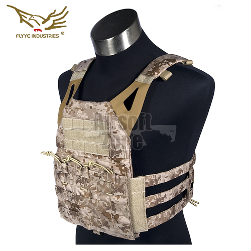 JPC Style Light MOLLE Plate Carrier with dummy plates AOR1 FLYYE
