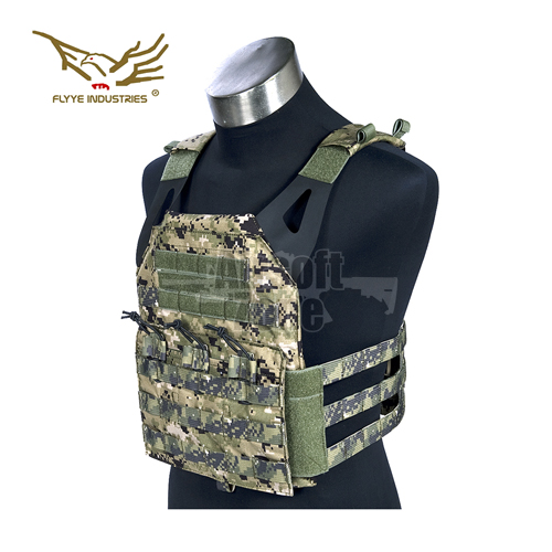 JPC Style Light MOLLE Plate Carrier with dummy plates AOR2 FLYYE