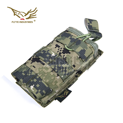 EV Universal Single Rifle Magazine Pouch AOR2 MOLLE FLYYE