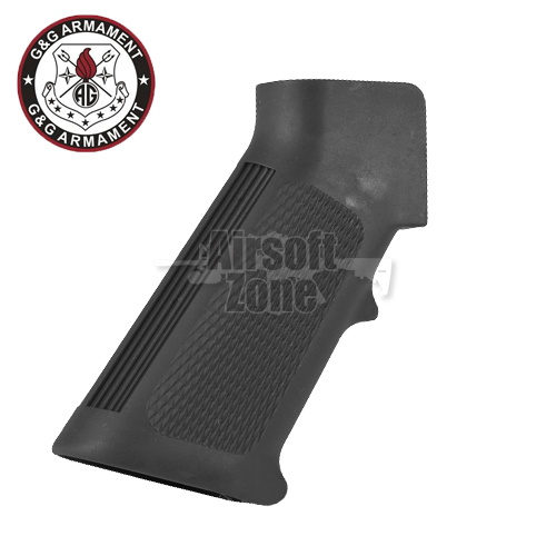 Reinforced AEG Motor Grip with Heat Sink for GR16 Series (Black) G&G