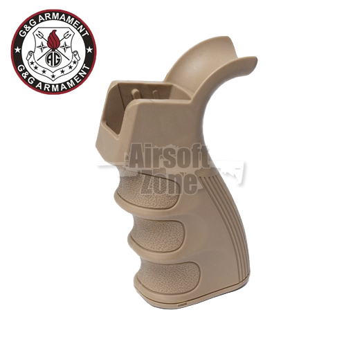 Tactical AEG Grip with Heat Sink for GR16 Series (Tan) G&G