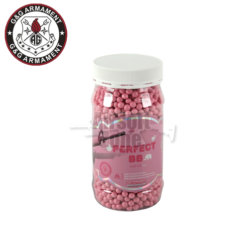 0.20g Perfect Pink BBs Jar of 2400 G&G