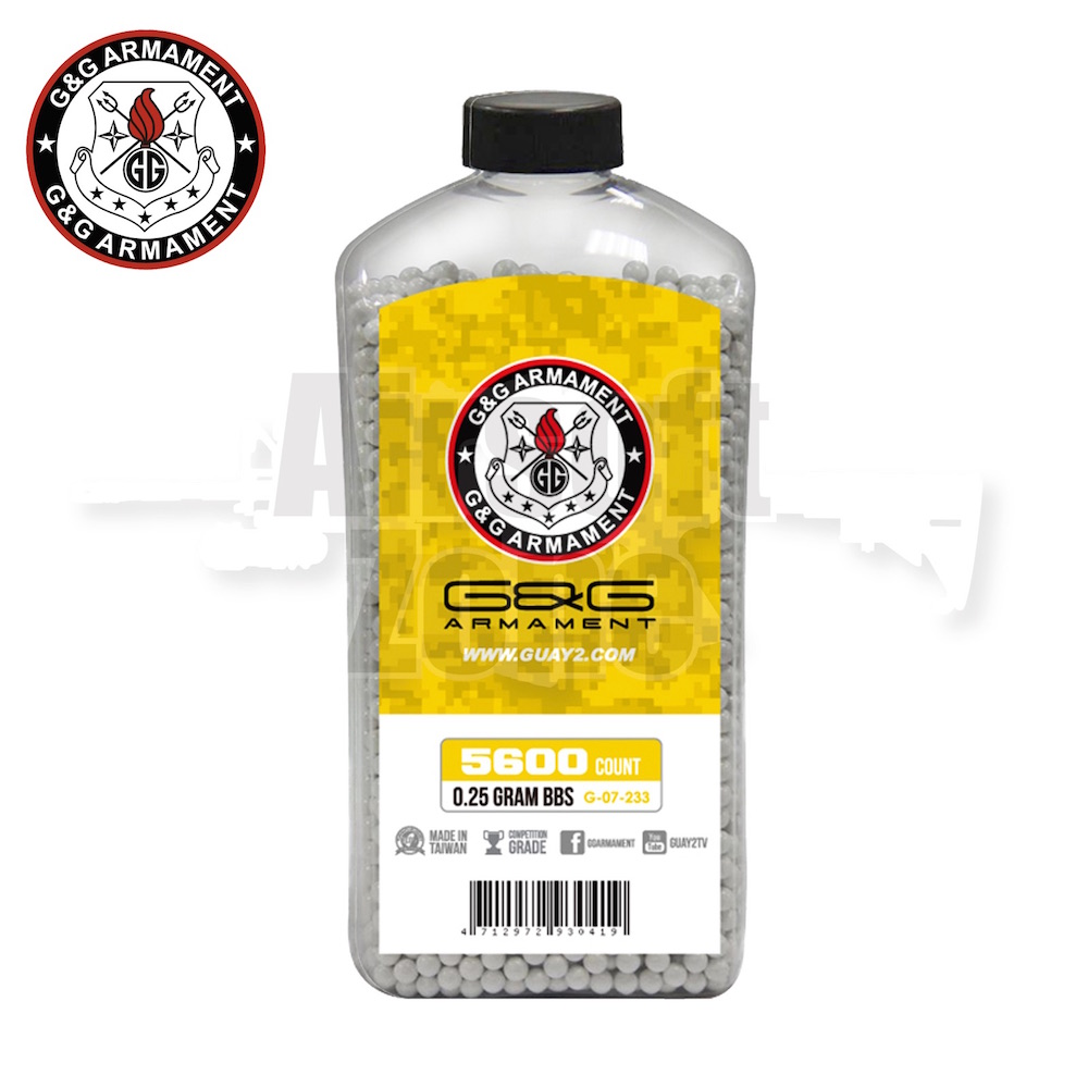 0.25g Perfect BBs Bottle of 5600 G&G