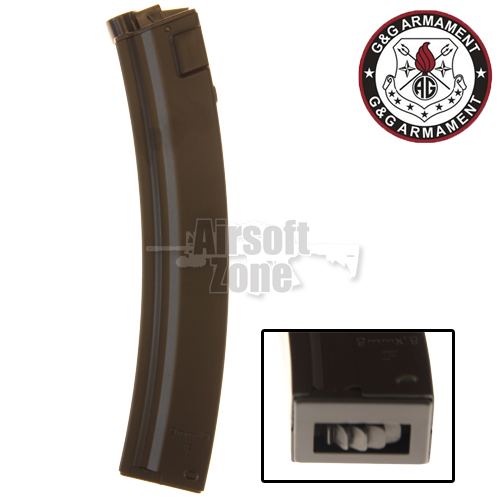 MP5 Magazine 200rnd Hi-Cap G&G