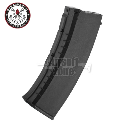 120rnd Mid-Cap Magazine Black for AK (GK74 series only) G&G