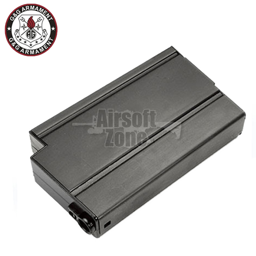 120rnd Mid-Cap Magazine Black for M14 (GR14) G&G