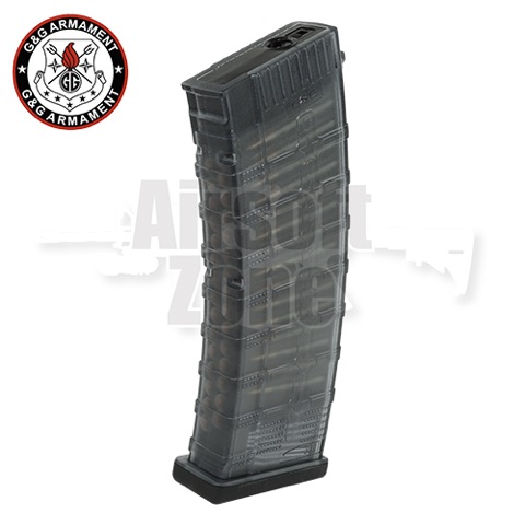 115rnd Mid-Cap Magazine (Dark Tainted) for RK74 T/E/CQB G&G