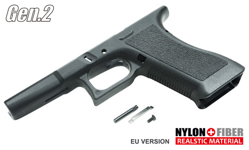 Gen.2 Original Frame for MARUI Glock 17/22/34 Black Guarder
