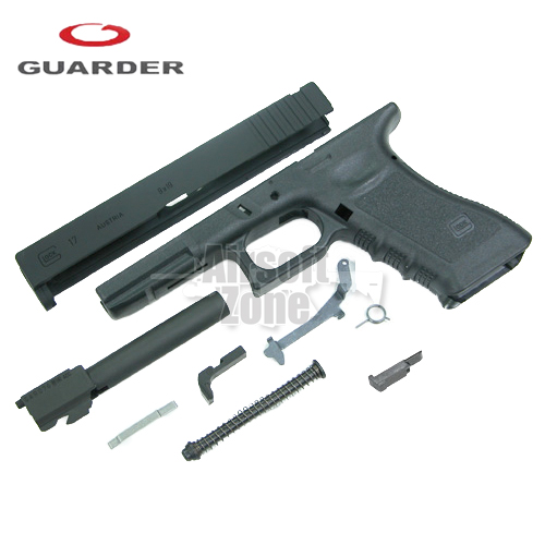 Enhanced Full Kit for Marui Glock 17 (2012 Version) Black Guarder