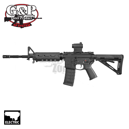 M4 MOE Carbine Magpul Black with T1 Sight AEG G&P