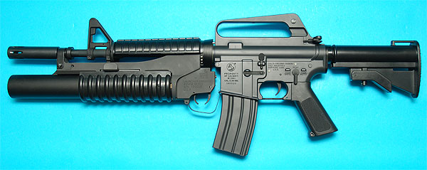 XM177 E2 with M203 Grenade Launcher AEG G&P