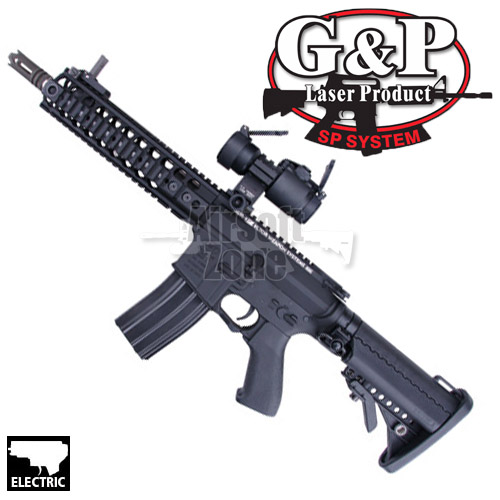 M4 LMT Tactical Rifle (with Red Dot Sight) AEG G&P