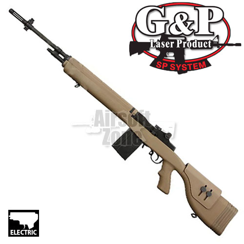 M14 DMR Dark Earth OR AEG G&P