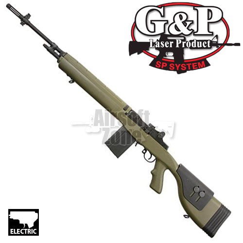 M14 DMR Foliage Green OR AEG G&P