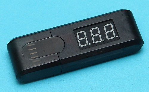 Portable LiPo Battery Voltage Meter G&P