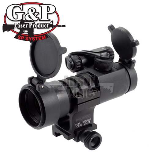 Military Type 30mm Red Dot Sight with Mk18 Mount G&P
