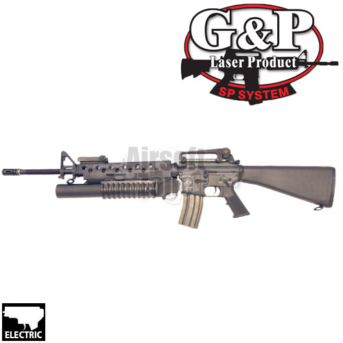 M16A3 with M203 Grenade Launcher AEG G&P
