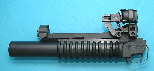 Military Type M203 Long Grenade Launcher DX G&P