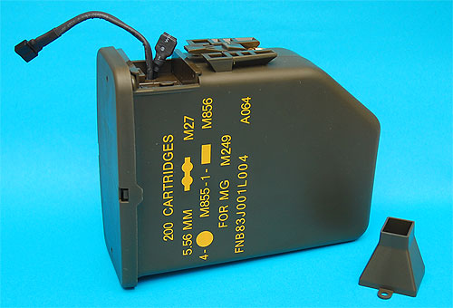 M249 & Mk46 Auto Loading Ammo Box 3000rnd G&P