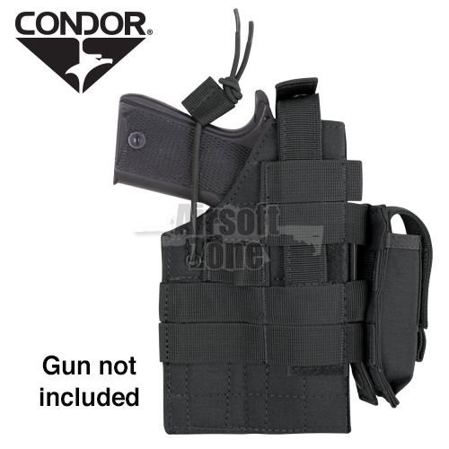 Ambidextrous MOLLE Holster for 1911 Black CONDOR