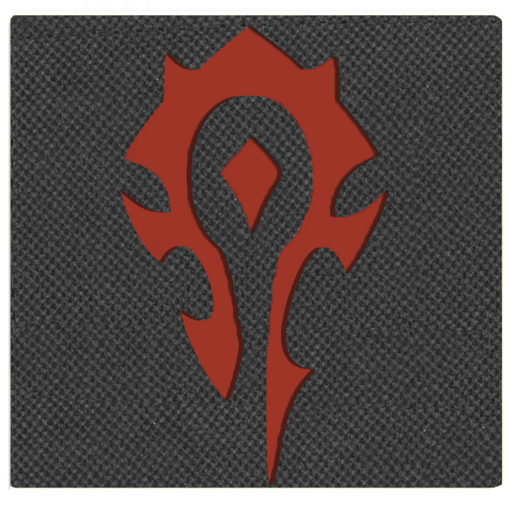 Call Sign ''For The Horde!'' Velcro Patch Mordor Tac