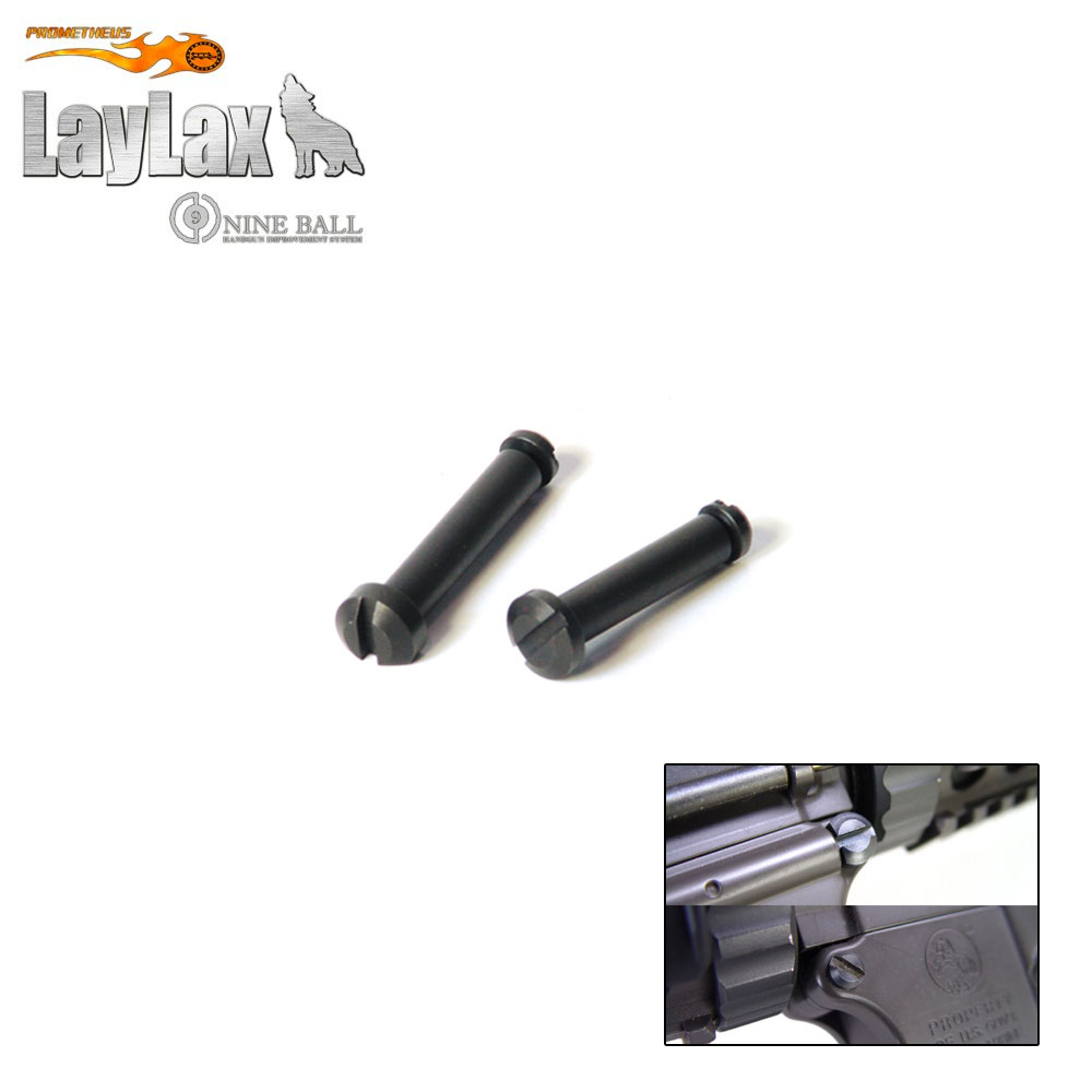 M16/M4 Receiver Locking Pin Set Black LayLax
