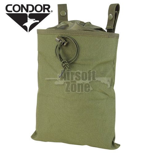 Folding Dump Pouch (3 Fold Mag Recovery Pouch) OD Green CONDOR