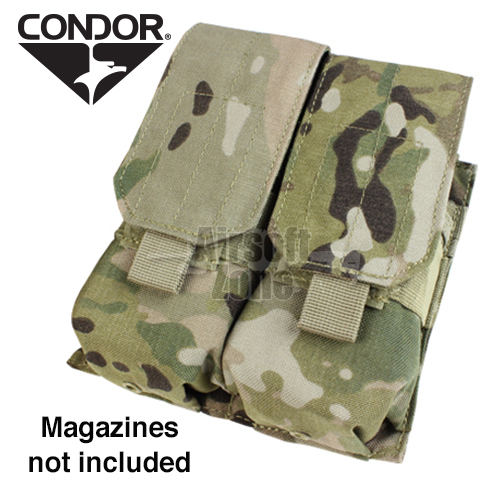Double M4 Magazine Pouch (holds 4 mags) Multicam CONDOR