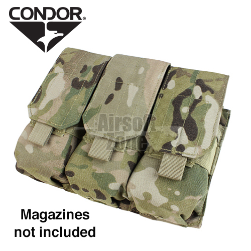 Triple M4 Magazine Pouch (holds 6 mags) Multicam CONDOR