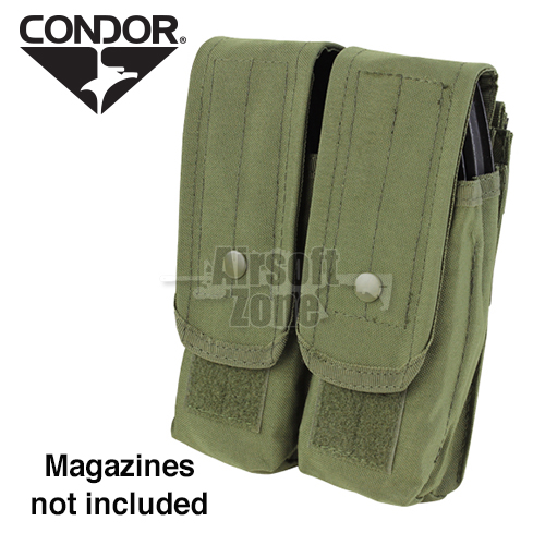 Double AK Magazine Pouch (holds 4 mags) OD Green CONDOR