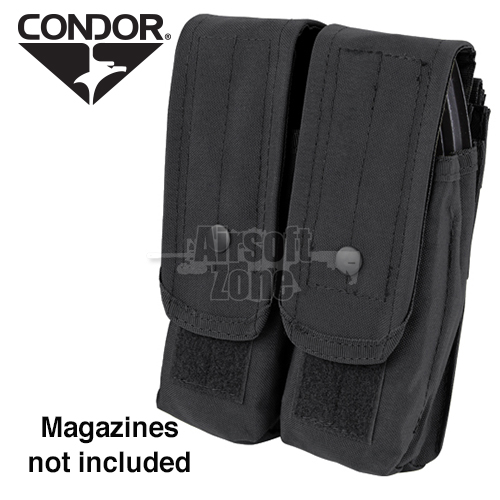 Double AK Magazine Pouch (holds 4 mags) Black CONDOR