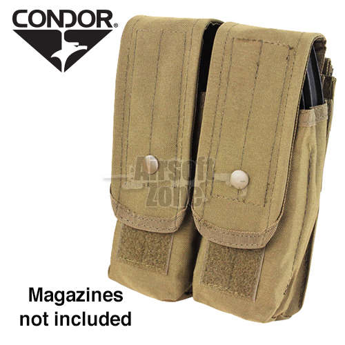 Double AK Magazine Pouch (holds 4 mags) Tan CONDOR