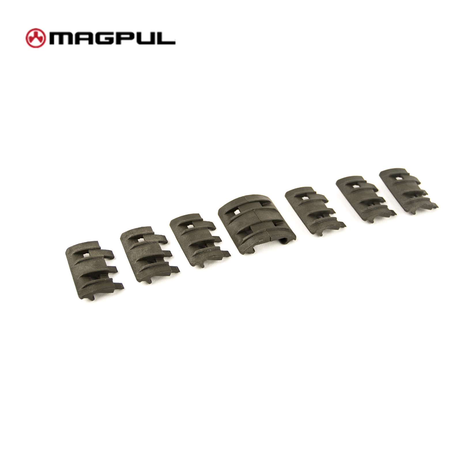 XTM Rail Covers (pack of 8) Olive Drab MAGPUL PTS