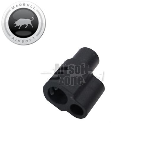 Punisher Style Compensator for Socom Gear and WE 1911 Black MADBULL