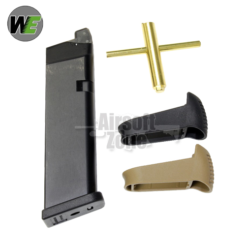 24rnd CO2 Gas Magazine Kit for G17 G18 G19 & G23 Series WE