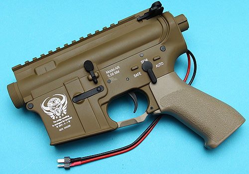 M4 / M16 Seal Skull Metal Body Pro Kit Dark Earth G&P