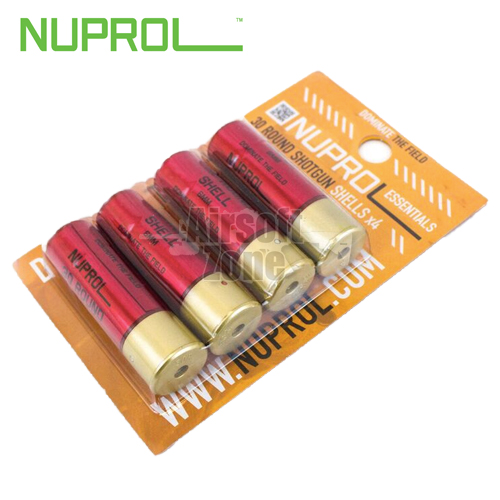 30rnd Shotgun Shells (pack of 4) for Shotguns NUPROL